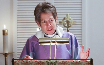 Presiding Bishop preaches in Keller at St. Martin-in-the-Fields Episcopal Church