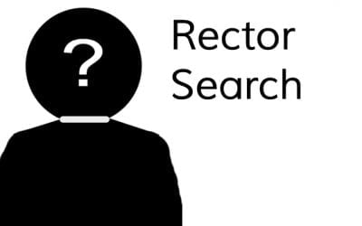 Information for continuing the rector search process