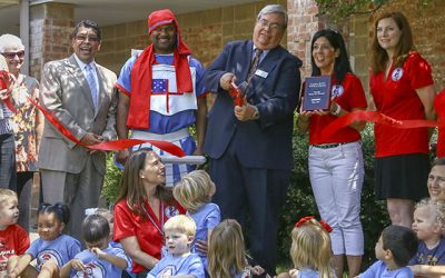 Ribbon Cutting at St. Martin's Episcopal School