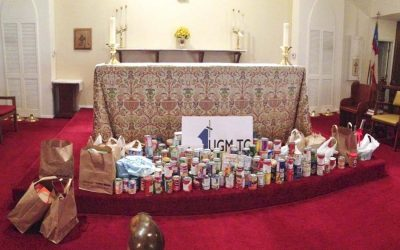 Canned Food Drive Wrap Up