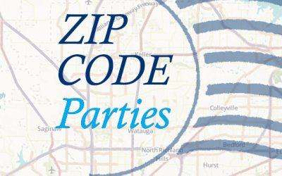 Zip code parties