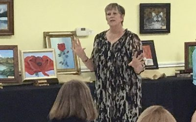 Art at St. Martin's – paintings with Linda Seeber