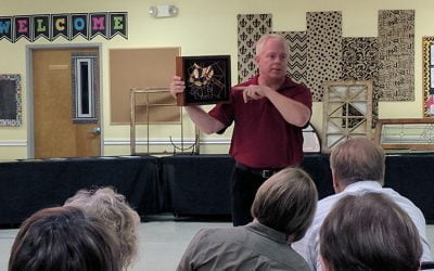 Art at St. Martin's – stained glass with Gil Kleinwechter