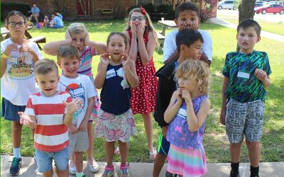 Vacation Bible School wrapped up a week of fun!