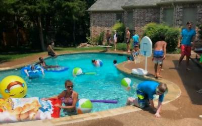 July pool party was a splash!